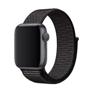 Apple Watch 38/40/42/44mm Nike Band:Black Nike Sport Loop